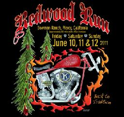 35th Annual Redwood Run - 08,09,10JUN12