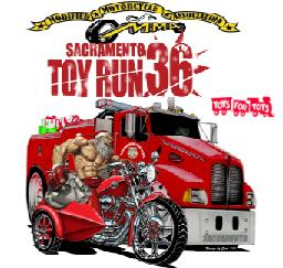 36th Annual Sacramento Toy Run - 25NOV12