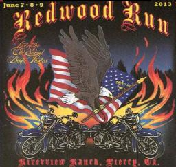 36TH ANNUAL REDWOOD RUN - 07,08,09JUN13