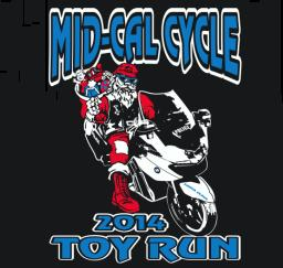 Mid-Cal Cycle Toy Run</B> - 29NOV14