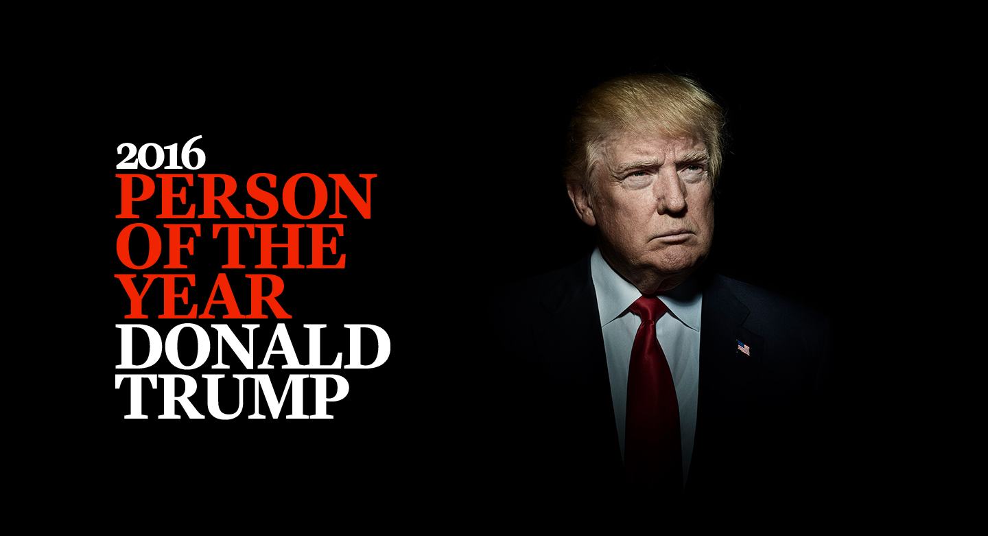 Donald Trump - Time Magazine's 'Person Of The Year'