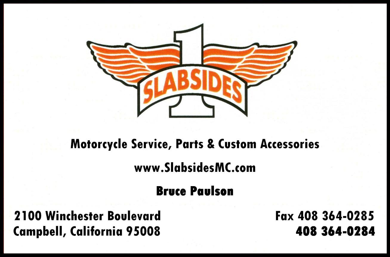 Slabsides Motorcycle Service, Parts & Custom Accessories, Campbell
