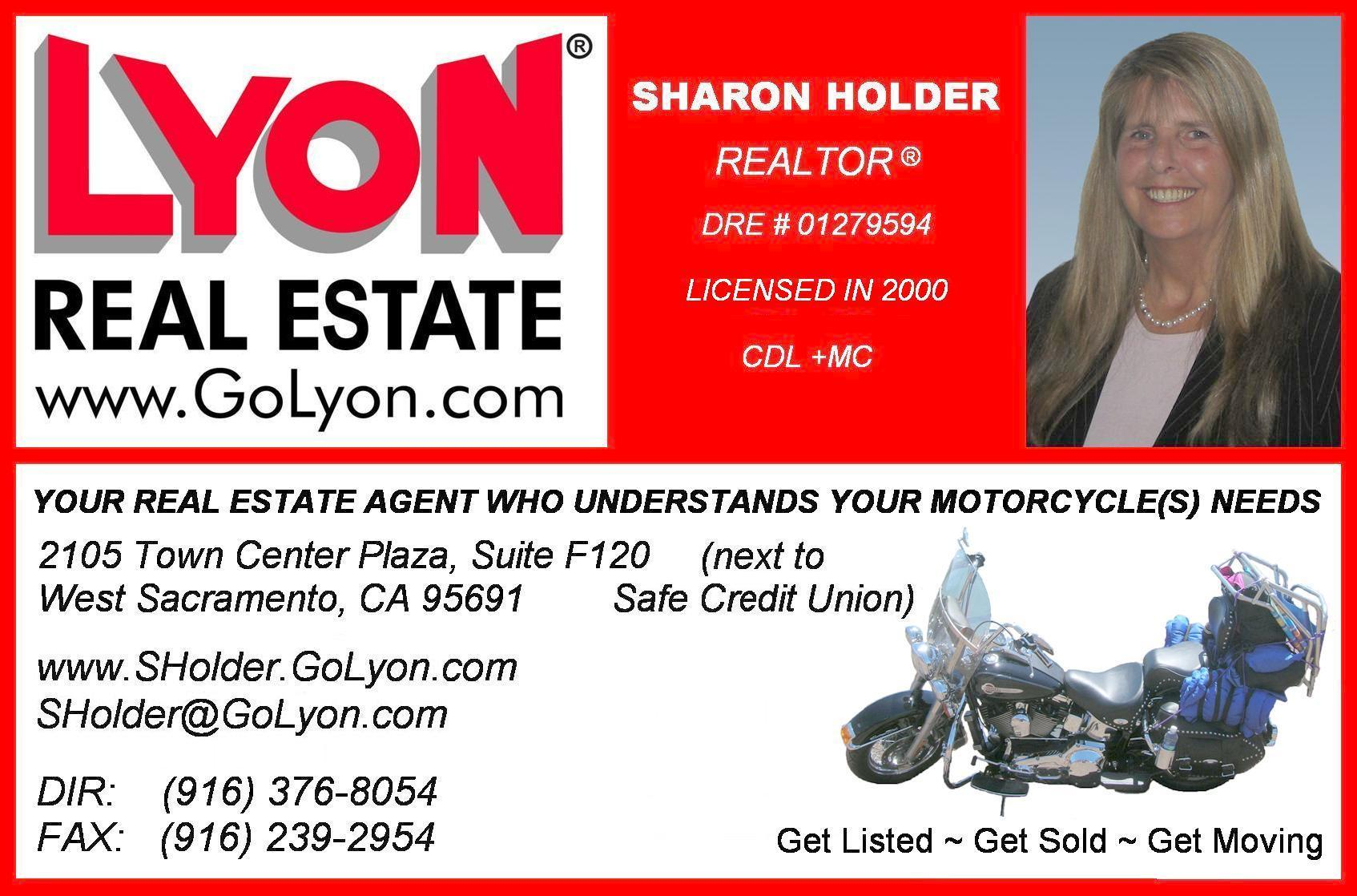 Sharon Holder - Lyon Real Estate - greater Sacramento area