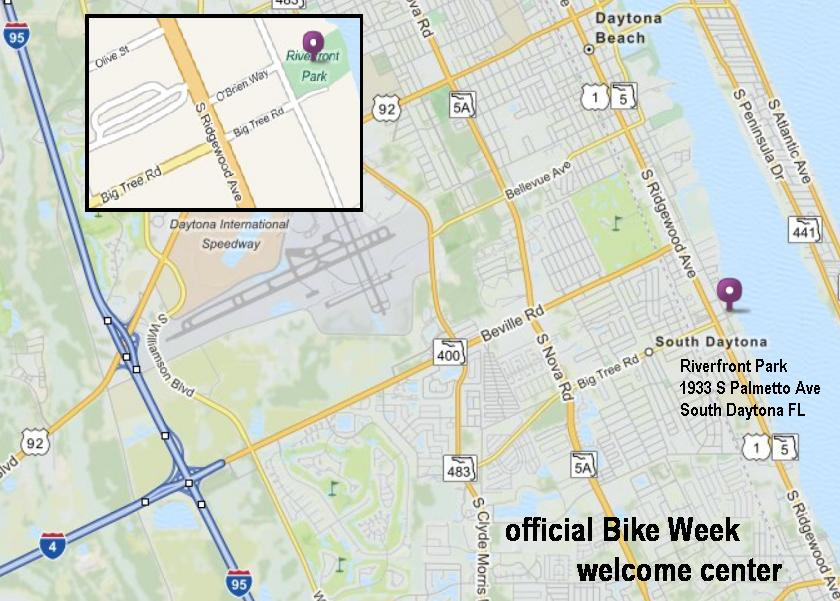 Official Bike Week Welcome Center